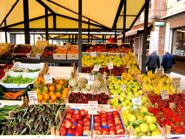 A Venice Market