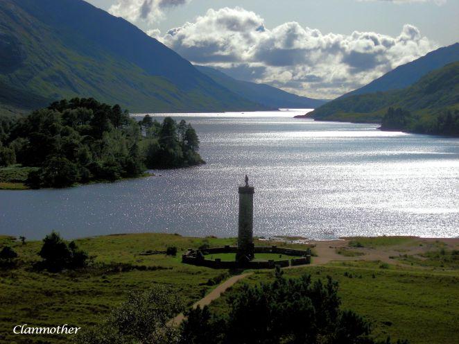 Bonnie Prince Charlie Monument, Glenfinnan, Scotland