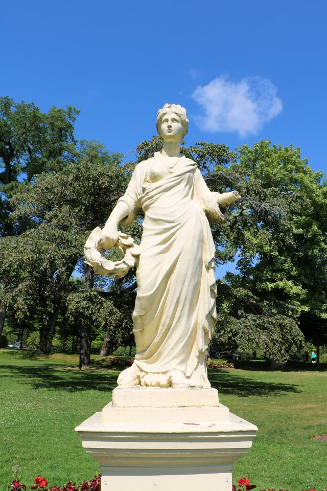 Flora, goddess of flowers, spring and youth,