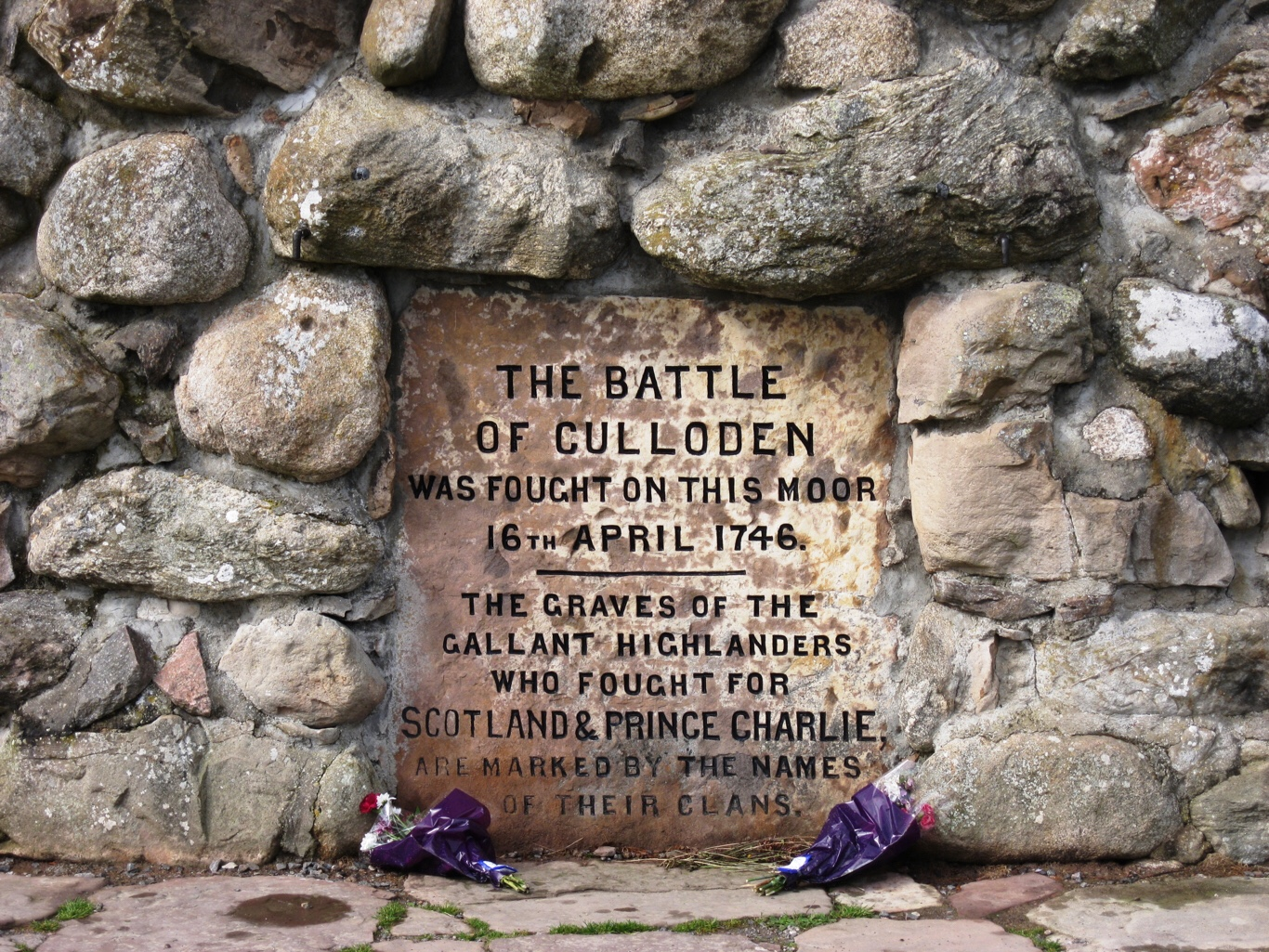 The Battle of Culloden April 16, 1746