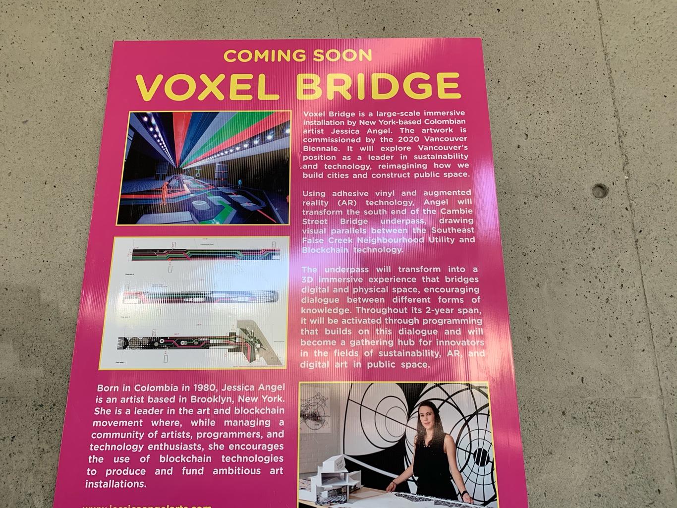 Voxel Bridge: Summer 2021 – 2023